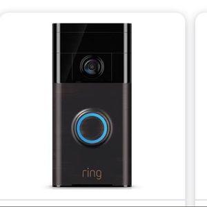 Ring video doorbell new in box